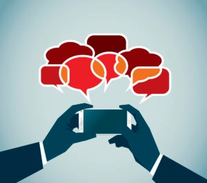 iPhone communication