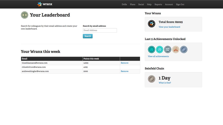 Leaderboard (1)