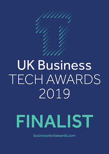 UK Business Tech Awards 2019 Finalist